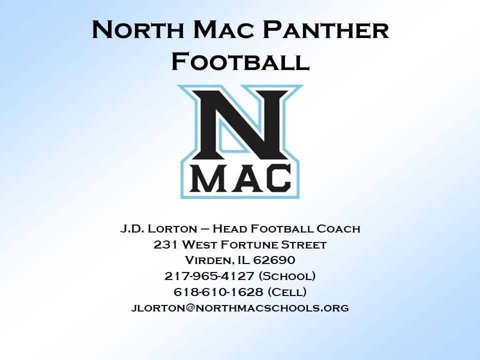 North Mac Panther Football