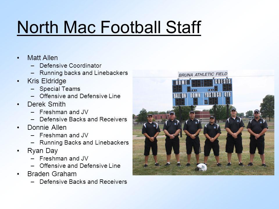North Mac Football Staff