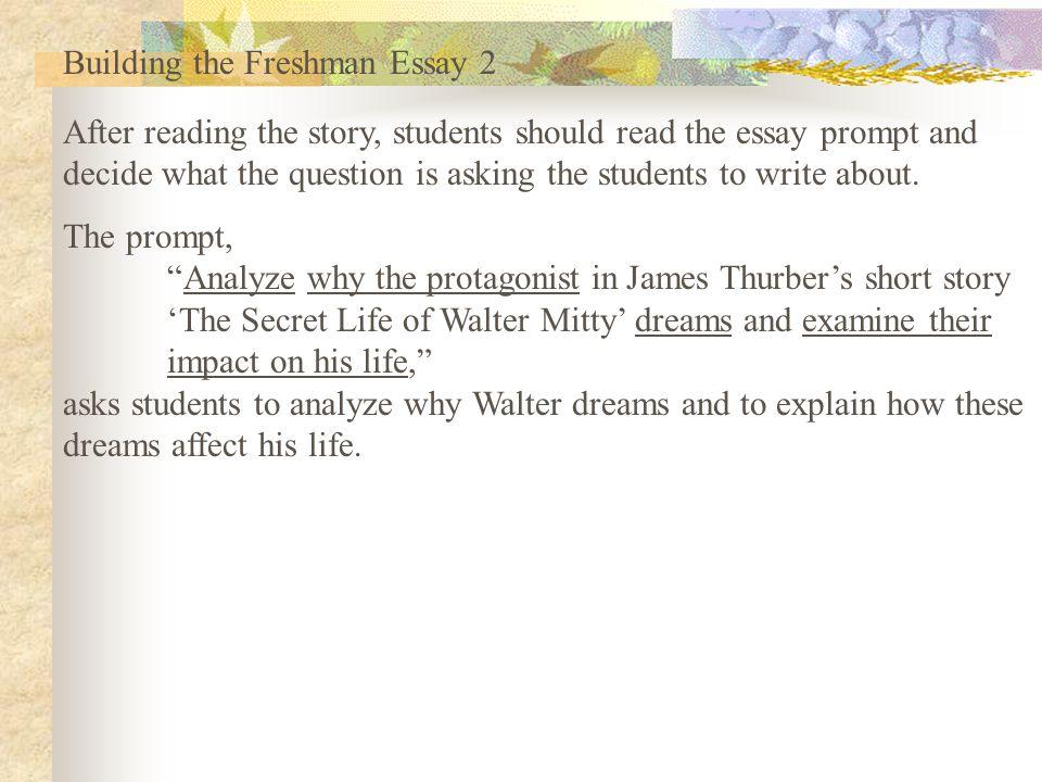 the freshman 15 essay