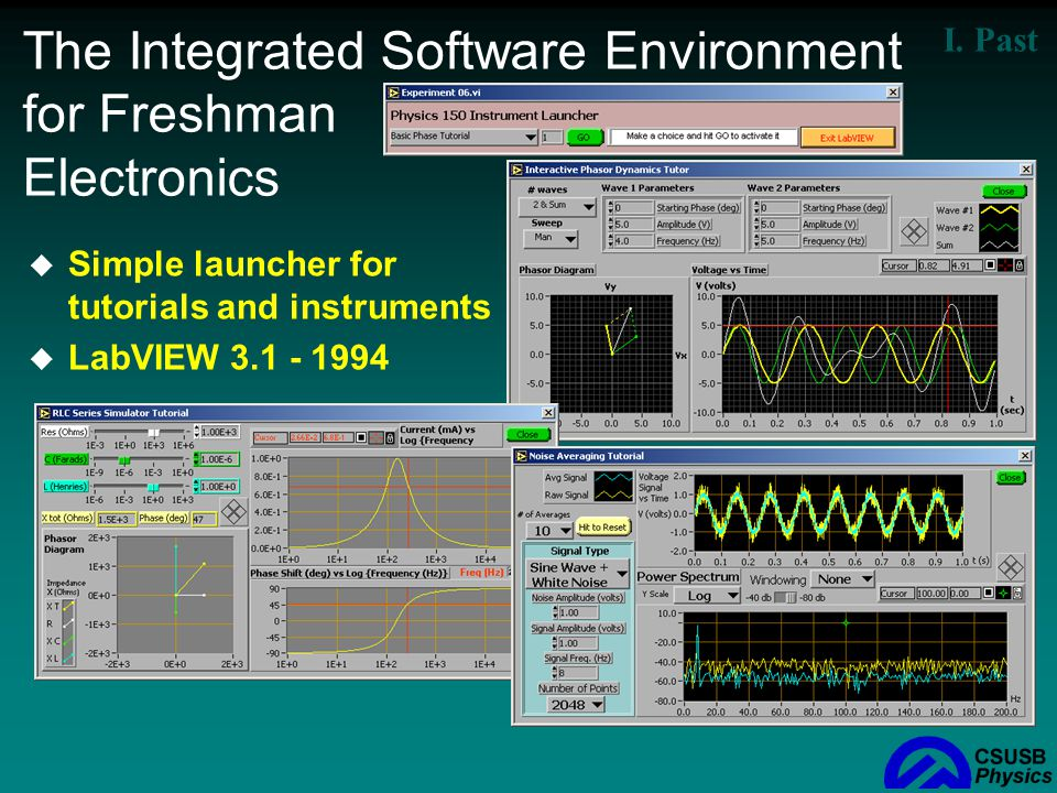 The Integrated Software Environment for Freshman Electronics