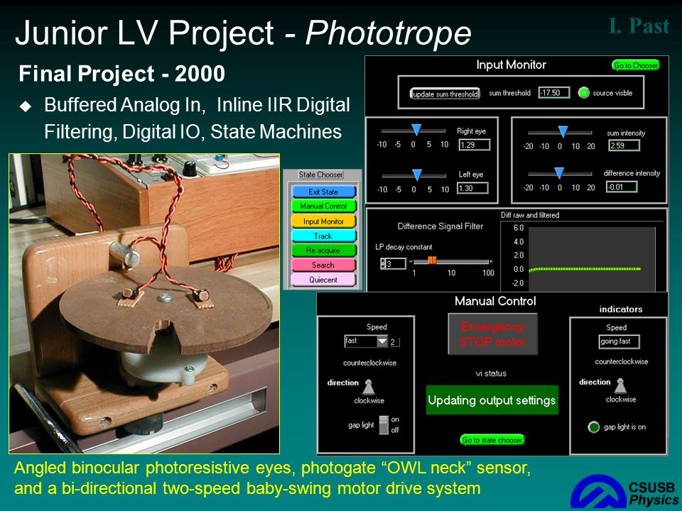 Junior LV Project - Phototrope