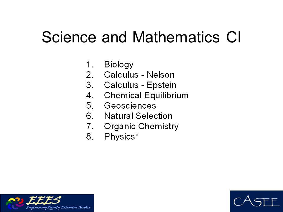 Science and Mathematics CI