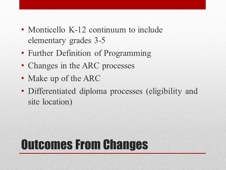 Monticello K-12 continuum to include elementary grades 3-5