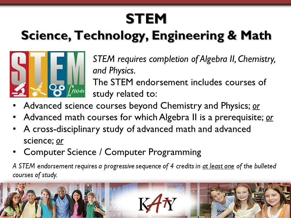 Science, Technology, Engineering & Math