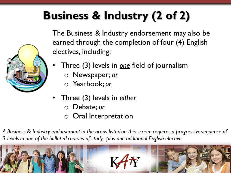 Business & Industry (2 of 2)