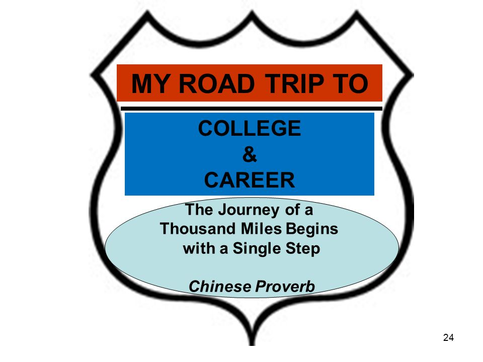 MY ROAD TRIP TO COLLEGE & CAREER The Journey of a