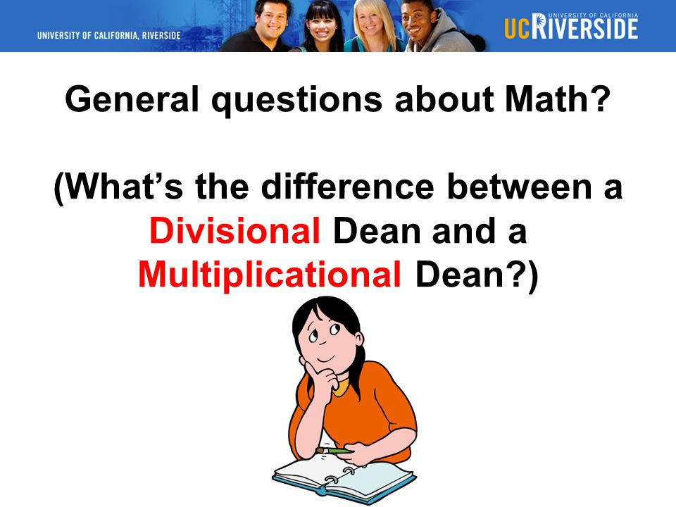 General questions about Math