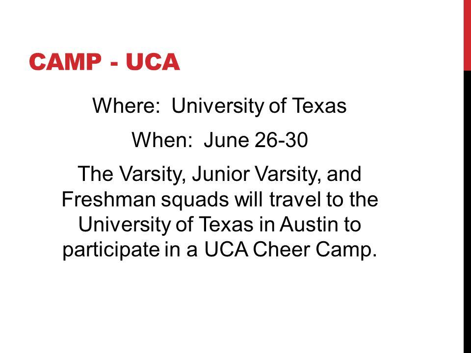 Camp - UCA