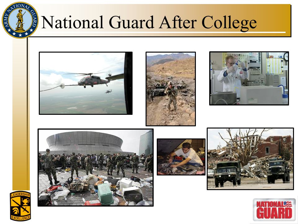 National Guard After College