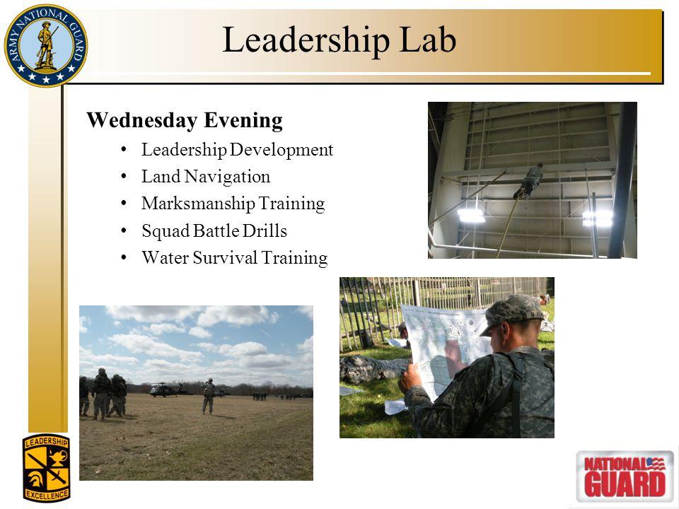 Leadership Lab Wednesday Evening Leadership Development