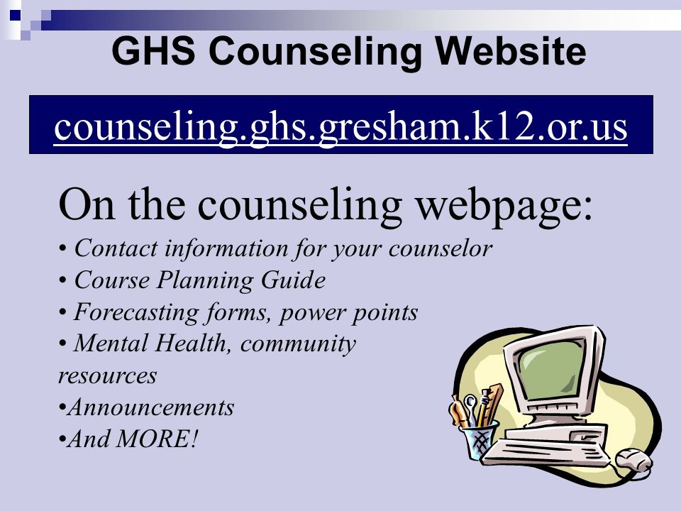 GHS Counseling Website