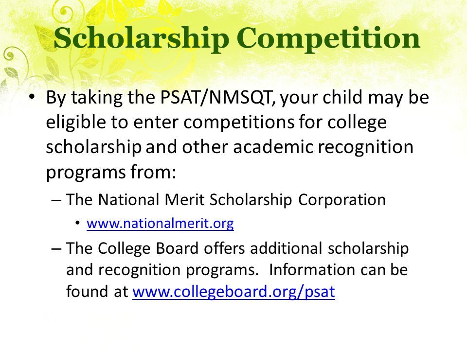 Scholarship Competition
