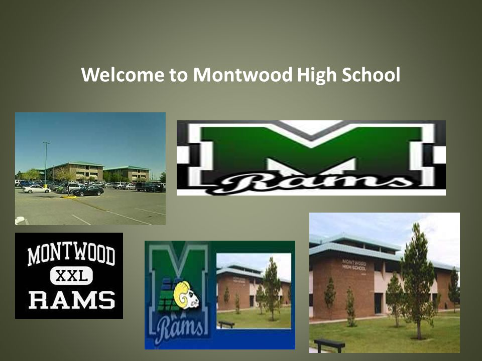 Welcome to Montwood High School