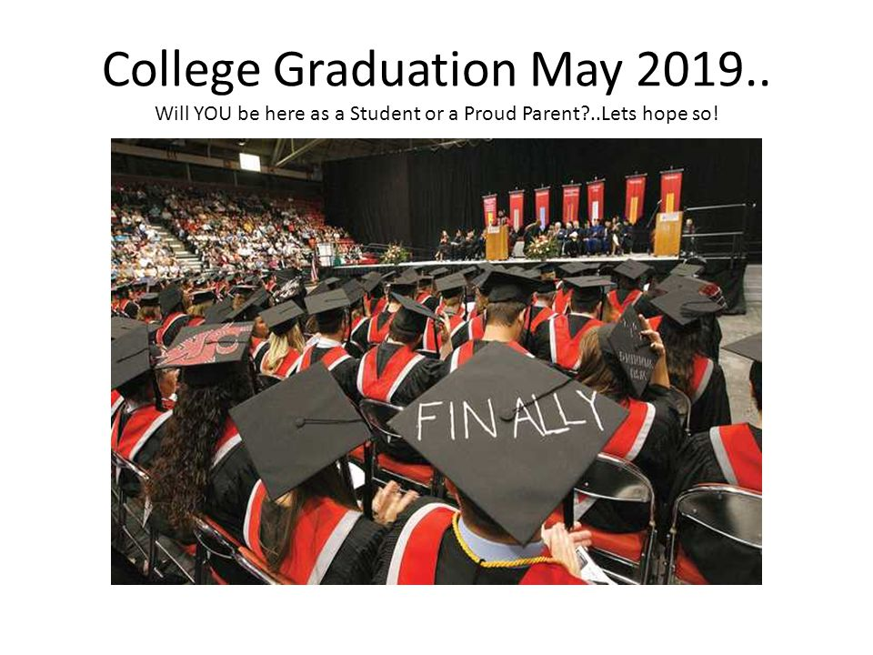 College Graduation May 2019