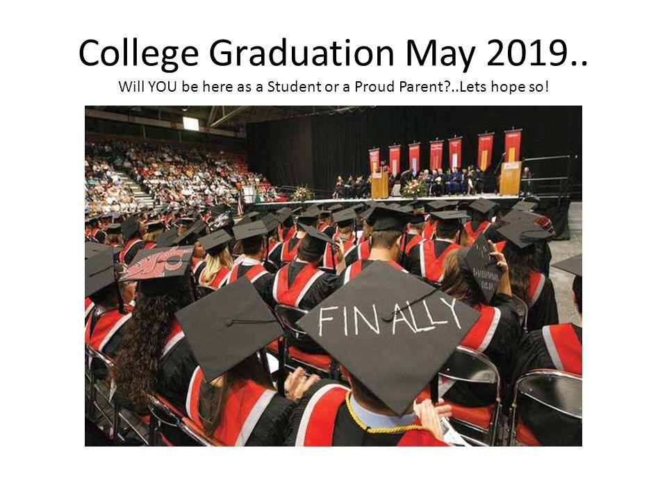 College Graduation May 2019