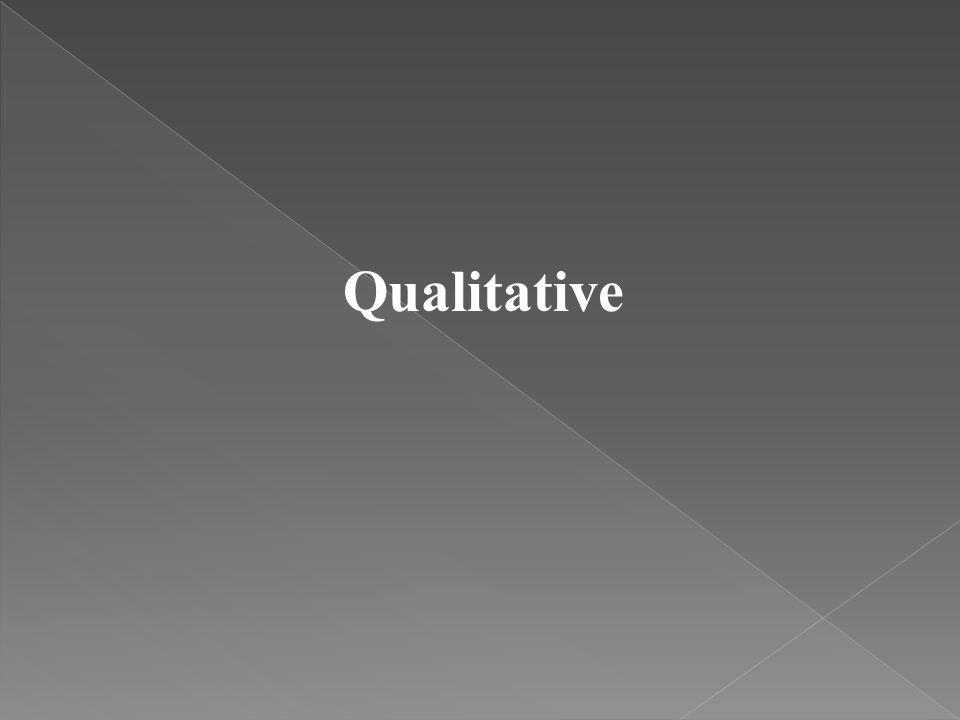 Qualitative