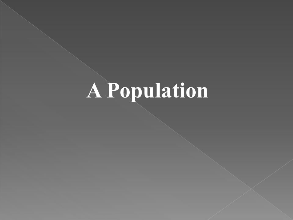 A Population