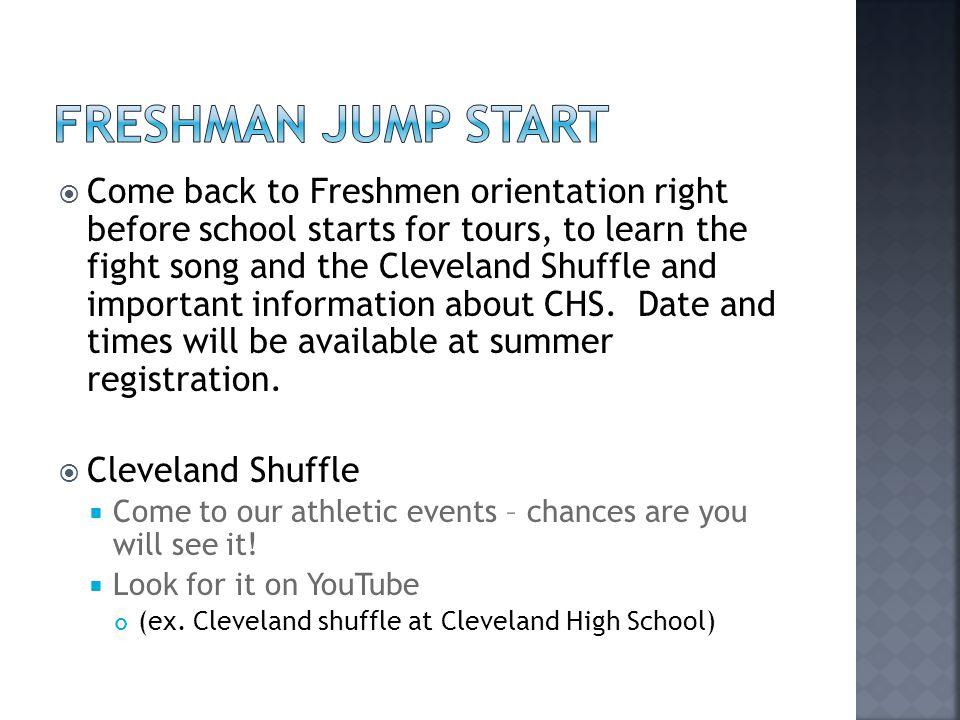 Freshman Jump Start
