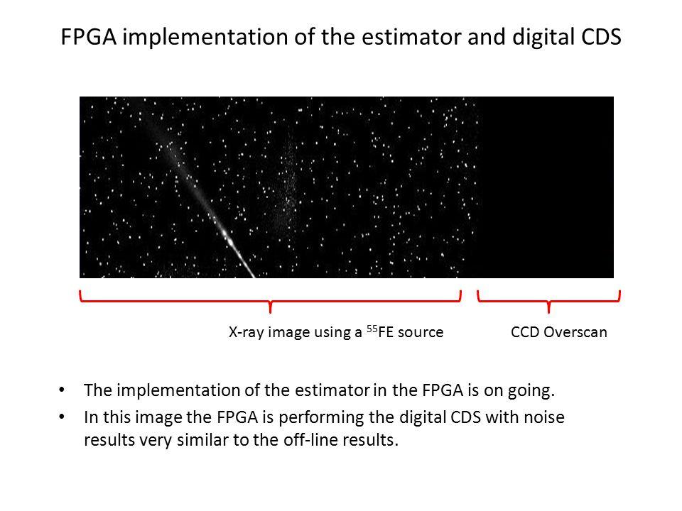 FPGA implementation of the estimator and digital CDS