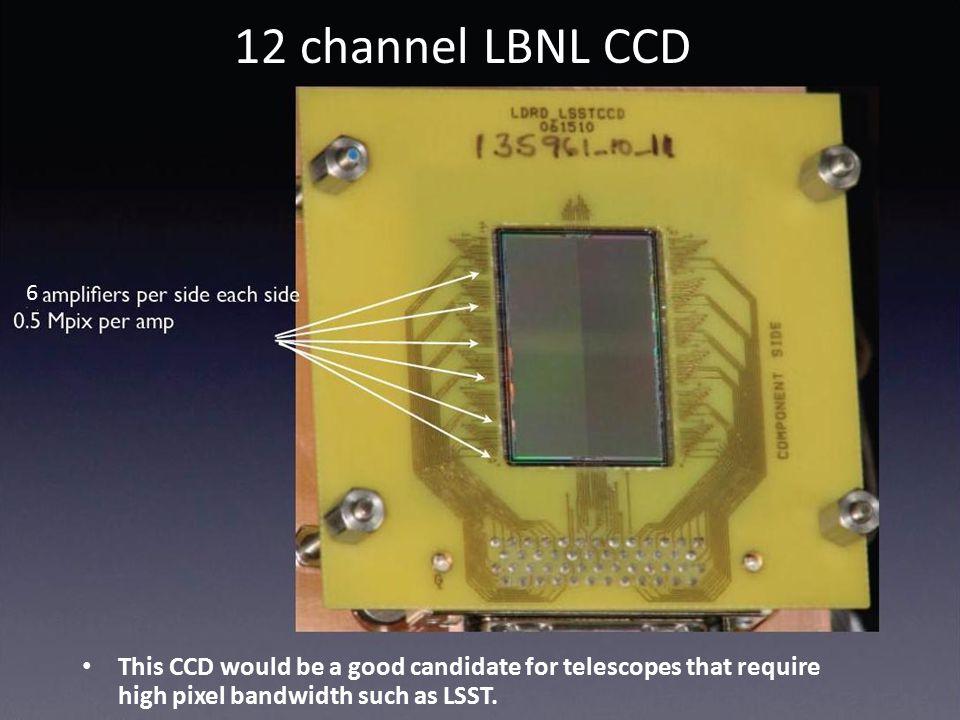 12 channel LBNL CCD 6.