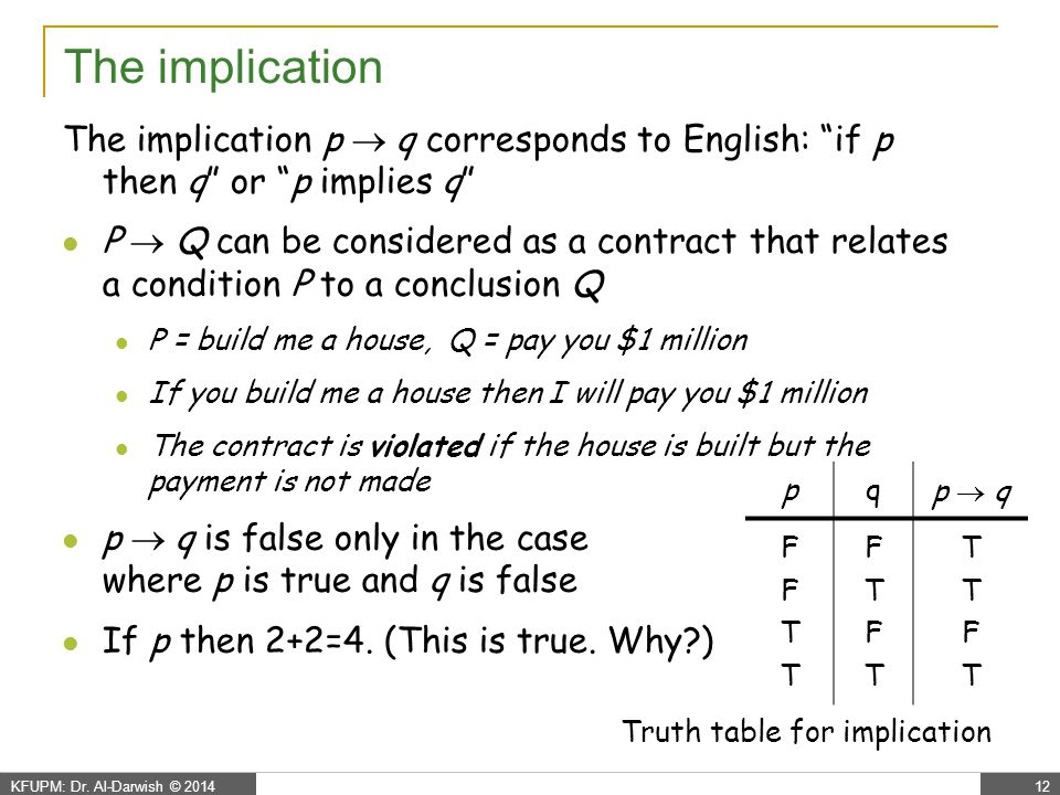Propositional Logic - logical equivalence