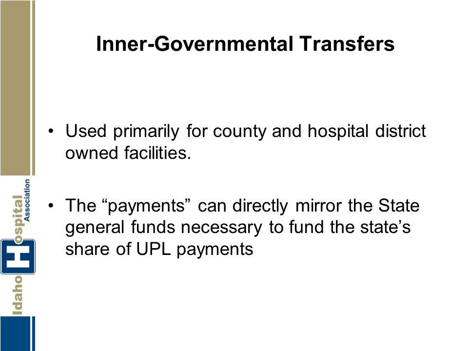 Inner-Governmental Transfers