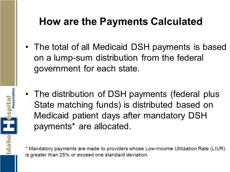 How are the Payments Calculated