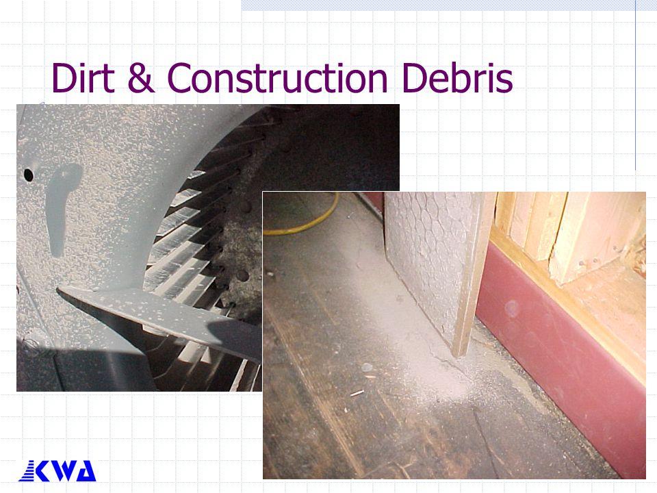 Dirt & Construction Debris