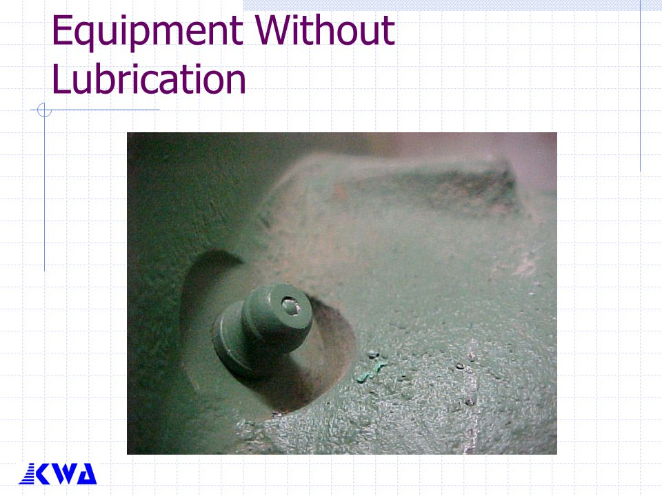 Equipment Without Lubrication