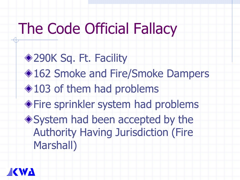 The Code Official Fallacy