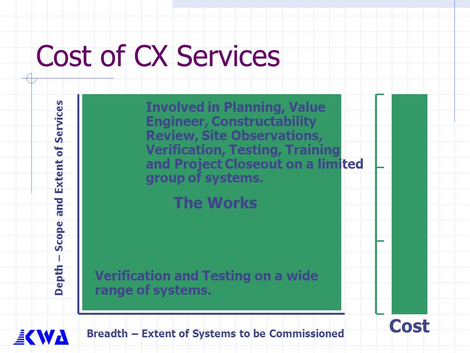 Cost of CX Services Cost The Works