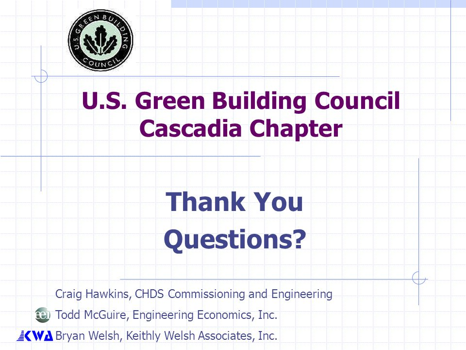 U.S. Green Building Council Cascadia Chapter