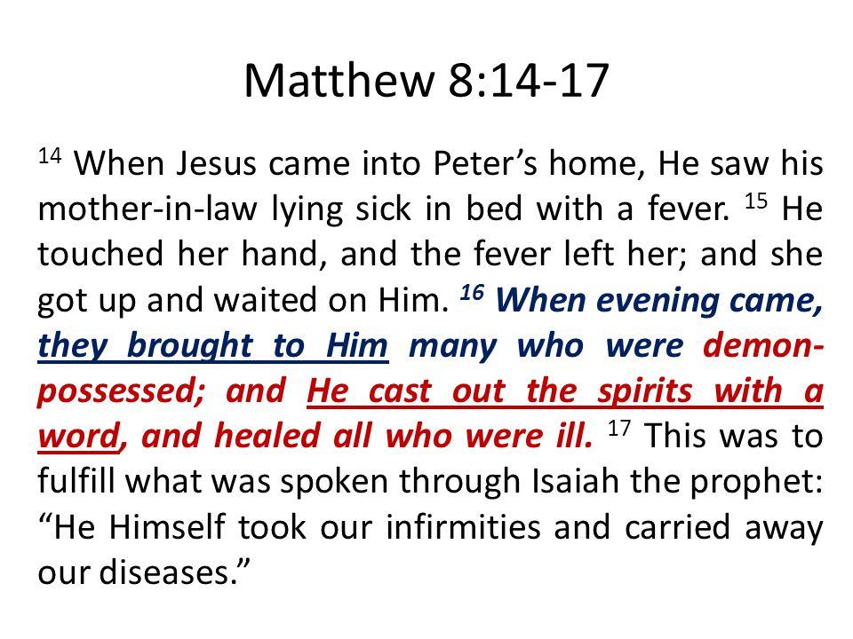 Matthew 8:14-17