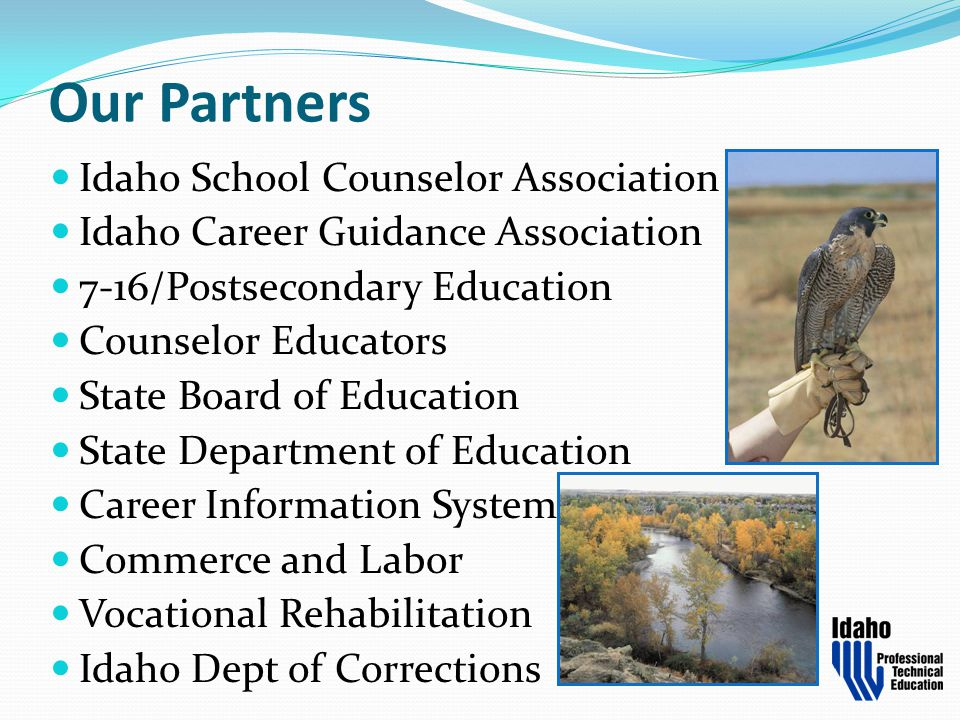 Our Partners Idaho School Counselor Association
