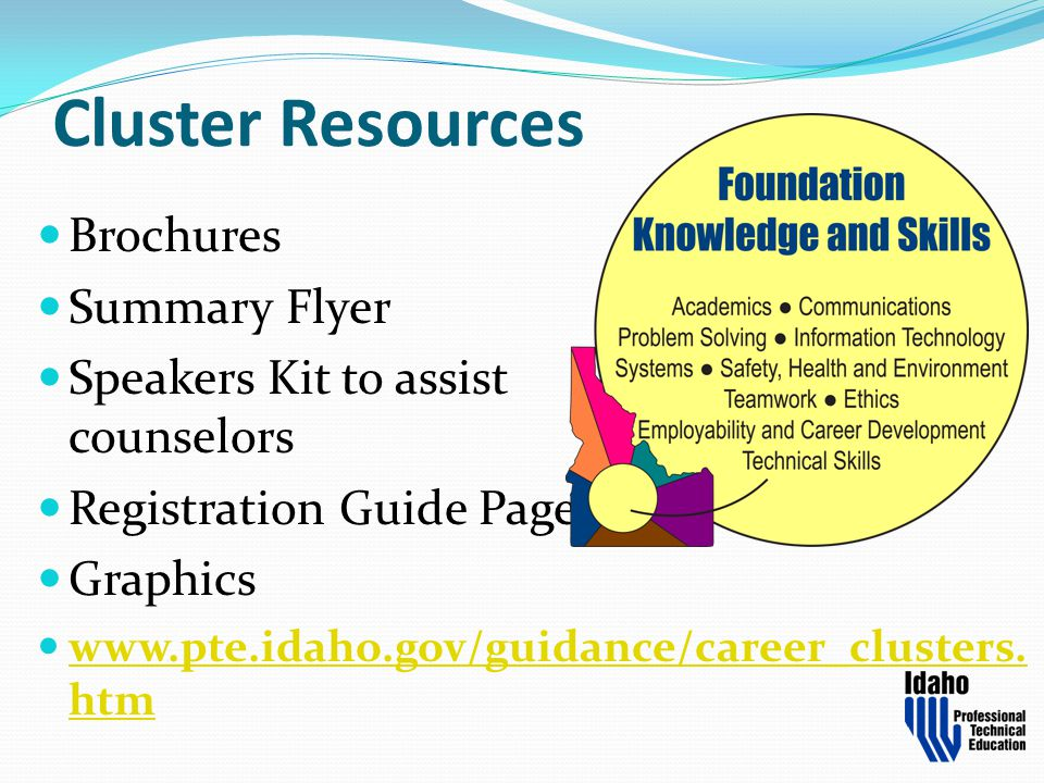 Cluster Resources Brochures Summary Flyer