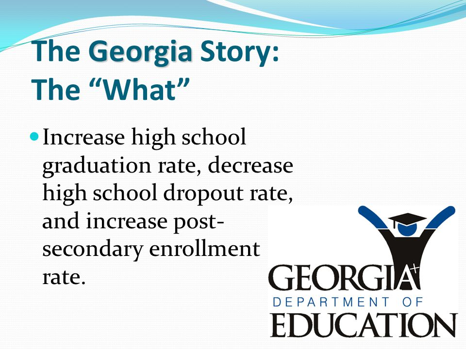 The Georgia Story: The What