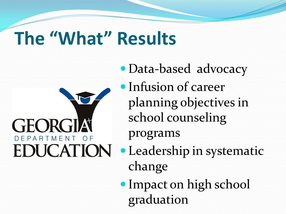 The What Results Data-based advocacy