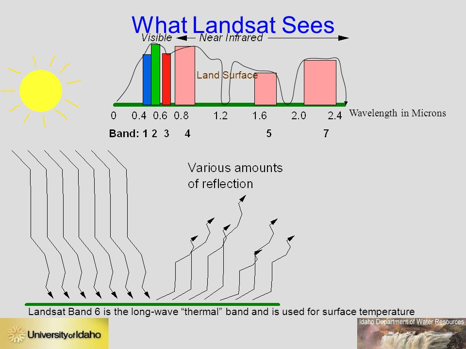 What Landsat Sees Land Surface Wavelength in Microns