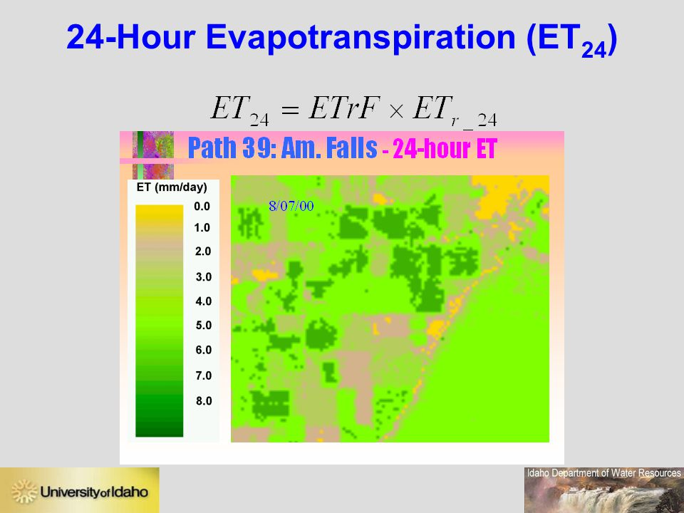 24-Hour Evapotranspiration (ET24)