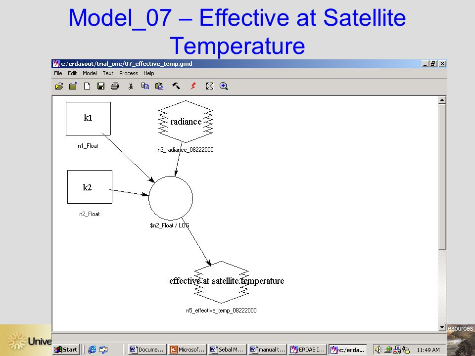 Model_07 – Effective at Satellite Temperature