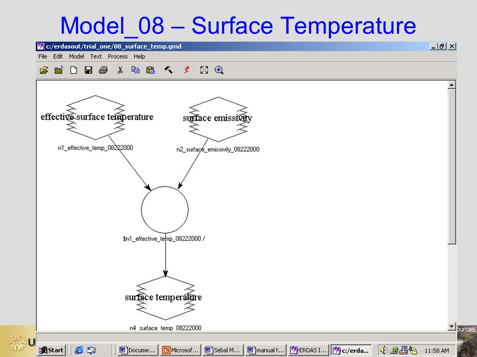 Model_08 – Surface Temperature