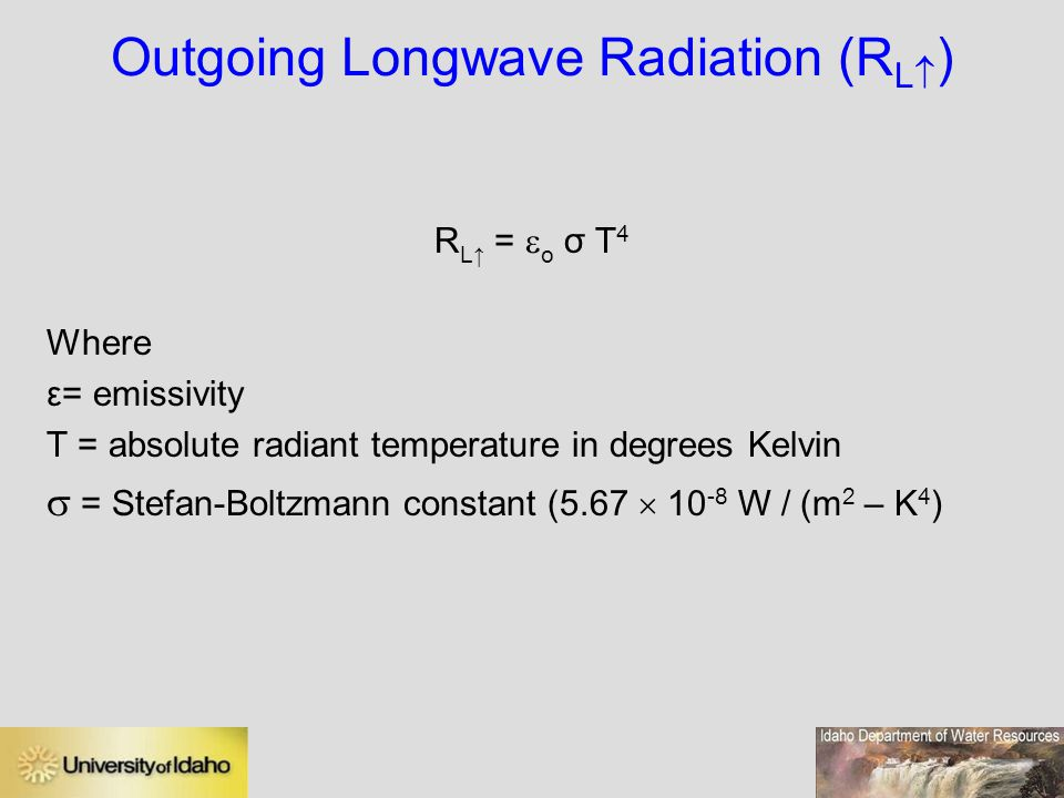 Outgoing Longwave Radiation (RL)