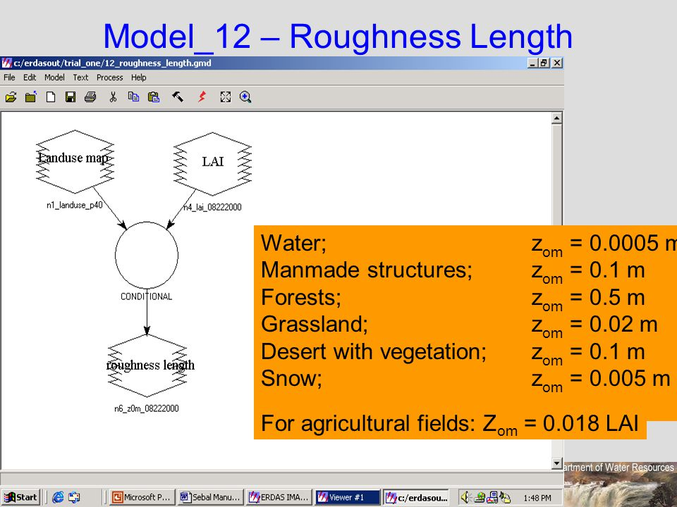 Model_12 – Roughness Length