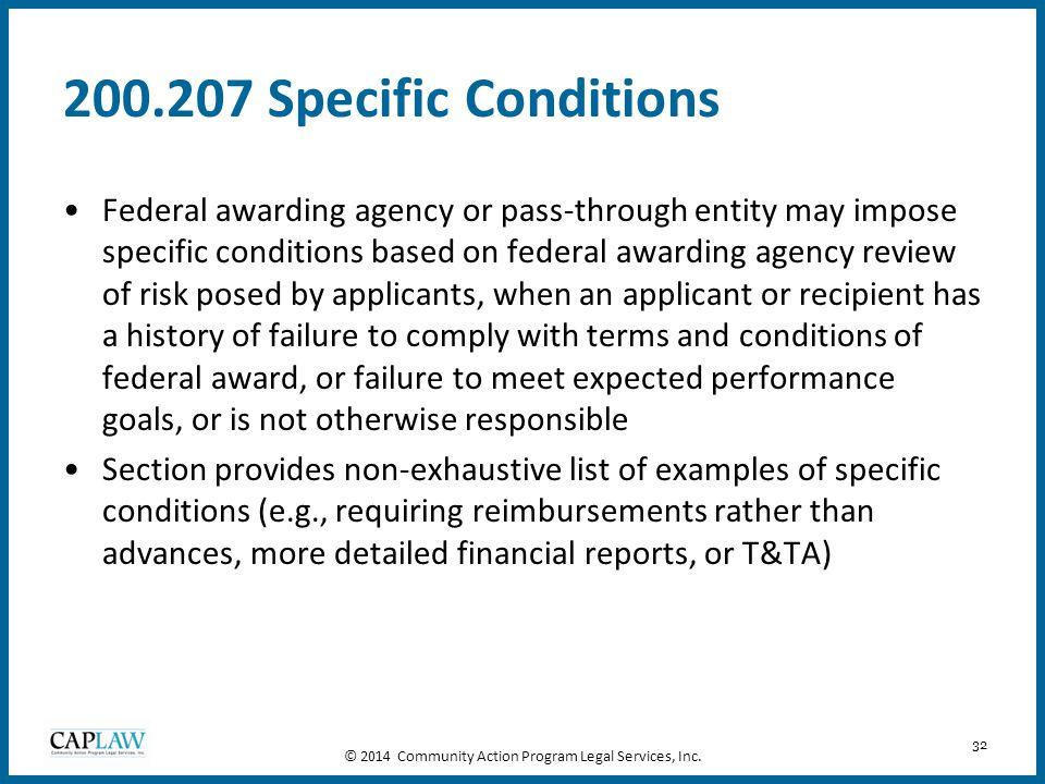 © 2014 Community Action Program Legal Services, Inc.