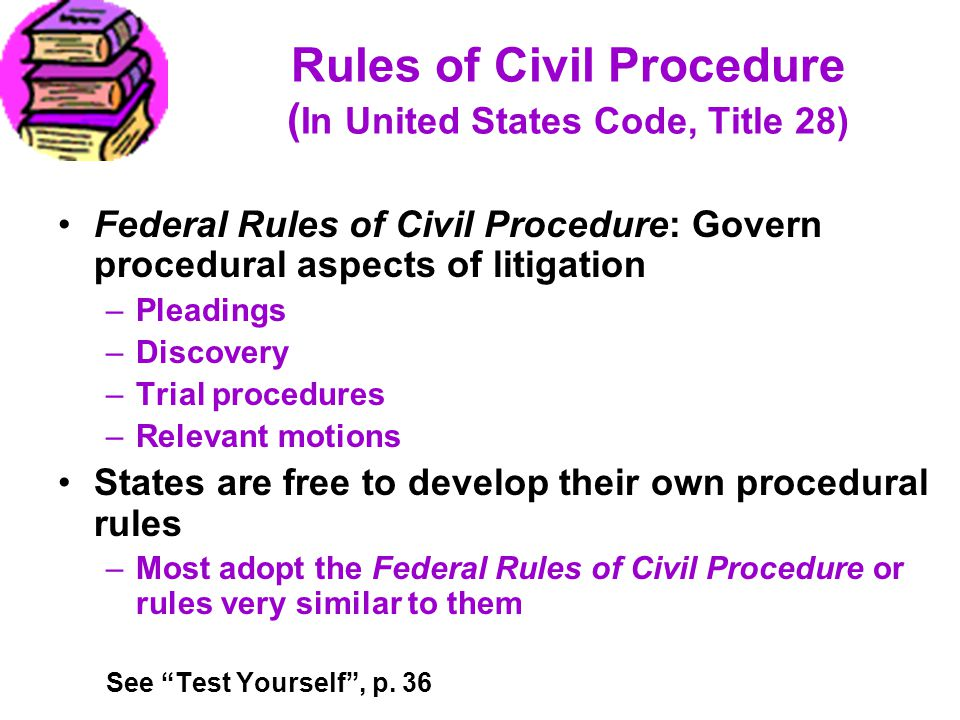 Rules of Civil Procedure (In United States Code, Title 28)