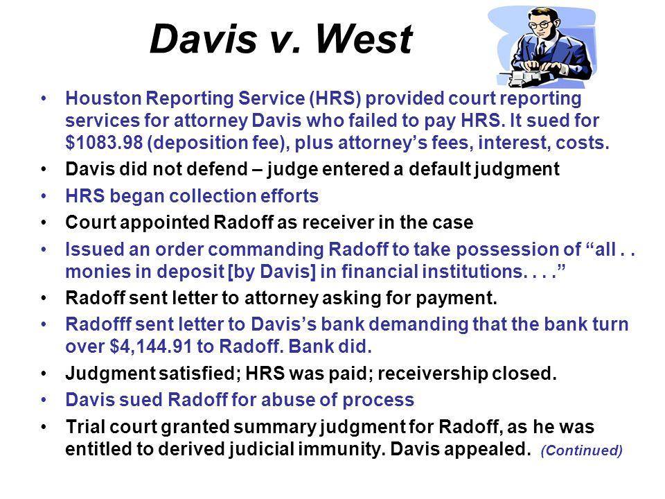 Davis v. West