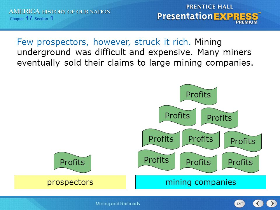 Few prospectors, however, struck it rich