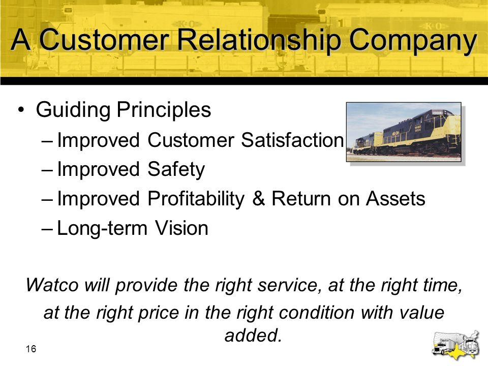 A Customer Relationship Company