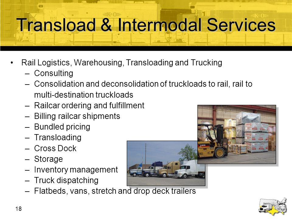 Transload & Intermodal Services