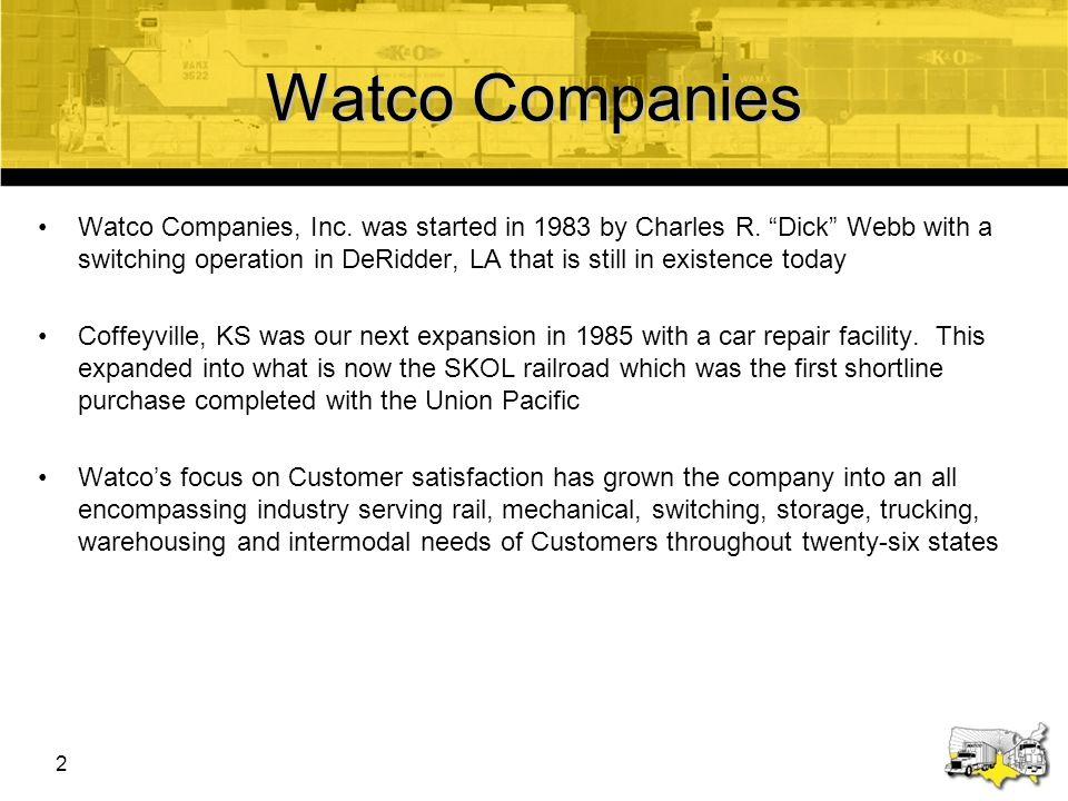 Watco Companies